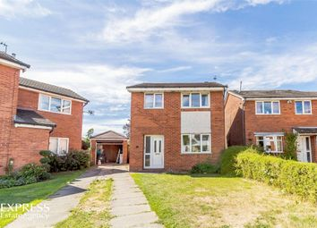 Thumbnail 3 bed detached house for sale in Coniston Way, Croston, Leyland, Lancashire