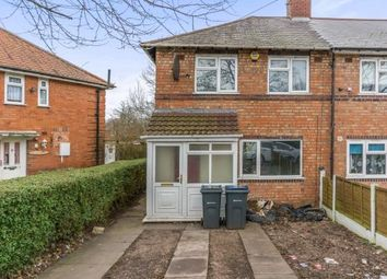 Thumbnail 3 bed end terrace house for sale in Nailstone Crescent, Birmingham, West Midlands
