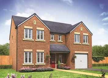 "Thumbnail 5 bed detached house for sale in ""The Chillingham"" at West Cross Lane, Mountsorrel, Loughborough"