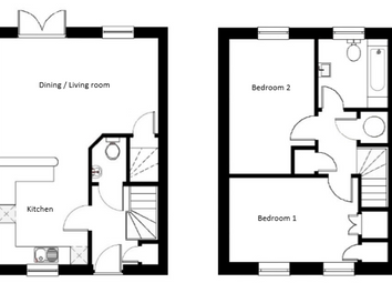 Thumbnail 2 bed end terrace house for sale in Farriers Way, Widegates, Looe, Devon