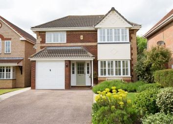 Thumbnail 4 bed detached house for sale in Dartmoor Drive, Huntingdon, Cambridgeshire