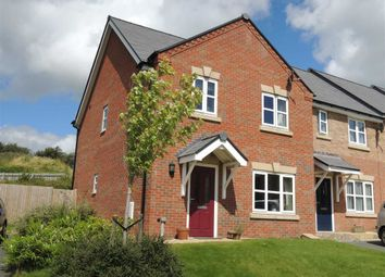 Thumbnail 3 bed end terrace house to rent in 1, Meadow View, Brimmon Road, Newtown, Powys