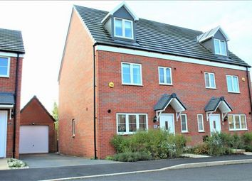 Thumbnail 4 bed semi-detached house for sale in Harrison Road, Harlestone Manor, Northampton