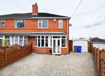 Thumbnail 3 bed semi-detached house for sale in Langdale Crescent, Sneyd Green, Stoke-On-Trent