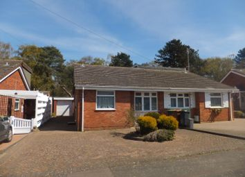 Thumbnail 2 bed semi-detached bungalow for sale in Larchwood Crescent, Streetly, Sutton Coldfield