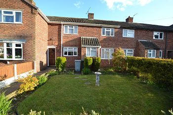 Thumbnail 2 bed terraced house to rent in George VI Close, Middlewich, Cheshire