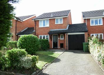 Thumbnail 3 bed detached house to rent in Barnard Close, Frimley, Camberley