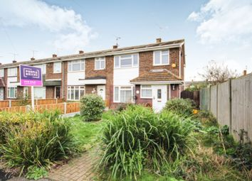 Thumbnail 3 bed end terrace house for sale in Suffolk Walk, Canvey Island