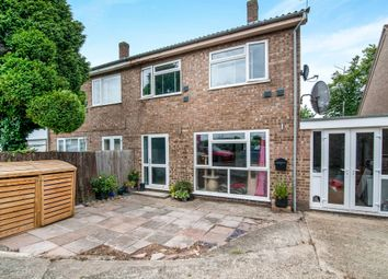 Thumbnail 4 bedroom semi-detached house for sale in Tithe Avenue, Beck Row, Bury St. Edmunds