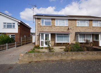 Thumbnail 3 bed semi-detached house for sale in Raphael Drive, Shoeburyness, Southend-On-Sea