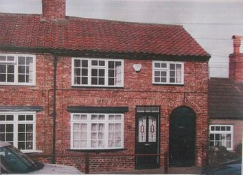 Thumbnail 2 bed terraced house to rent in South End, Bedale