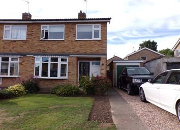 Thumbnail 3 bed semi-detached house for sale in Langley Close, Huncote, Leicester, Leicestershire