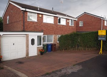 Thumbnail 3 bed semi-detached house for sale in Woodthorne Close, Rugeley