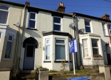 Thumbnail 2 bedroom terraced house to rent in Rectory Road, Ipswich