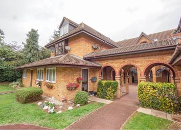 Thumbnail 1 bed flat for sale in Palmer Court, Chapmore End, Ware