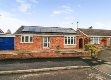 Thumbnail 2 bed detached bungalow for sale in Farleigh Close, Broughton Astley, Leicester