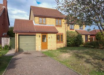 Thumbnail 3 bed detached house for sale in St. Andrew Close, Hopton, Great Yarmouth