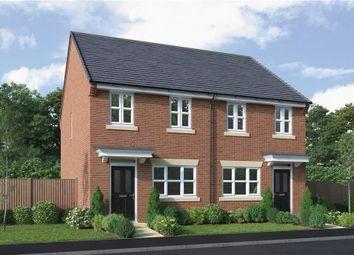 "Thumbnail 2 bed semi-detached house for sale in ""Newton"" at Platt Lane, Keyworth, Nottingham"