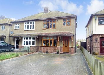 Thumbnail 3 bed semi-detached house for sale in Park Road, Leybourne, West Malling, Kent