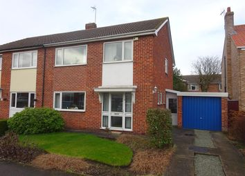 Thumbnail 4 bed semi-detached house for sale in Pear Tree Close, Huntington, York