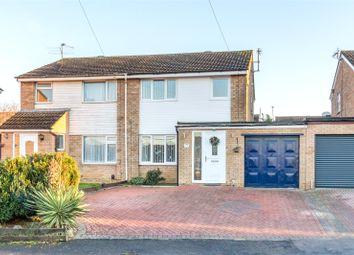 Thumbnail 3 bed semi-detached house to rent in Ashridge Close, Rushden, Northamptonshire
