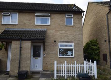 Thumbnail 1 bed end terrace house to rent in Thorney Leys, Witney, Oxfordshire