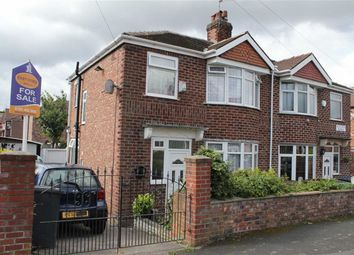 Thumbnail 3 bedroom semi-detached house for sale in Sutcliffe Avenue, Longsight, Manchester