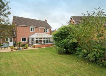 Thumbnail 4 bed detached house for sale in Millbeck Close, Weston, Crewe
