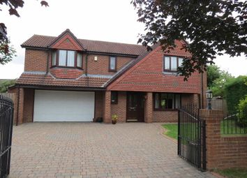 Thumbnail 4 bed detached house for sale in St. Pauls Drive, Houghton Le Spring