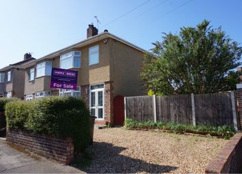 Thumbnail 3 bed semi-detached house for sale in Eastwood Road, Brislington
