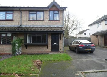 Thumbnail 3 bed semi-detached house to rent in The Meadows, Littlethorpe, Leicester