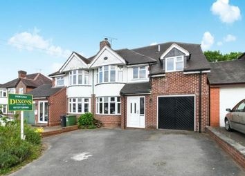 Thumbnail 5 bed semi-detached house for sale in Bromsgrove Road, Redditch, Worcestershire
