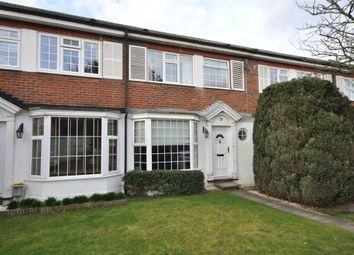 Thumbnail 3 bed terraced house to rent in Chestnut Manor Close, Staines-Upon-Thames, Surrey