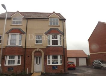 Thumbnail 4 bed semi-detached house to rent in Sycamore Drive, Allt Yr Yn Avenue, Newport, Gwent.