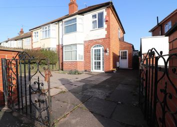 Thumbnail 3 bed semi-detached house for sale in Belvoir Drive East, Leicester, Leicestershire