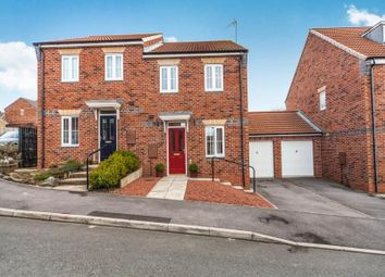 Thumbnail 3 bed semi-detached house for sale in Deepdale Drive, Consett