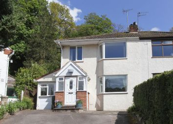 Thumbnail 3 bed semi-detached house for sale in The Croft, Clevedon