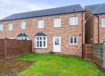 Thumbnail 3 bed semi-detached house to rent in Lake View, Pontefract