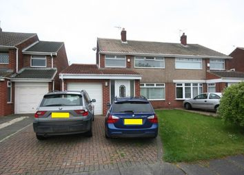 Thumbnail 3 bed semi-detached house for sale in Kildale Grove, Hartlepool