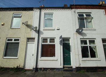 Thumbnail 2 bed terraced house to rent in Vernon Road, Leicester