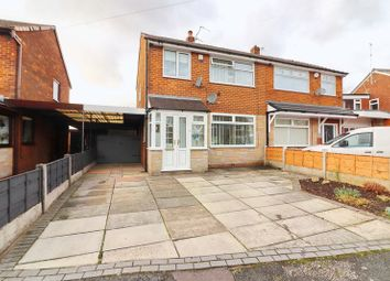 Thumbnail 3 bed semi-detached house for sale in Ashton Field Drive, Walkden, Manchester