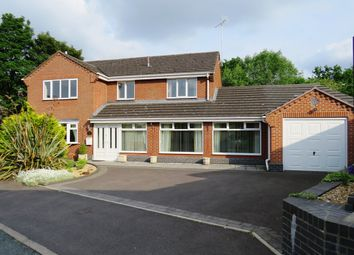 Thumbnail 4 bed detached house for sale in The Hollow, Uttoxeter