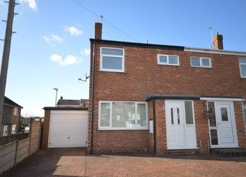 Thumbnail 3 bed semi-detached house for sale in Kilburn Way, Newhall, Swadlincote