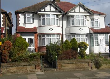 Thumbnail 3 bed semi-detached house for sale in Bury Street West, Bush Hill Park Borders