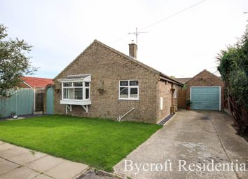 Thumbnail 3 bed detached bungalow for sale in Summerfield Road, Hemsby, Great Yarmouth