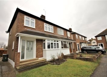 Thumbnail 3 bed semi-detached house for sale in Lulworth Close, Stanford-Le-Hope