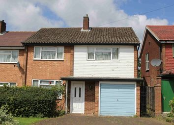 Thumbnail 3 bed semi-detached house for sale in Mansfield Avenue, Cockfosters, Hertfordshire