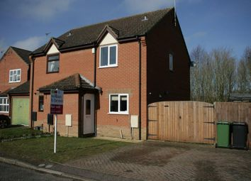 Thumbnail 2 bed semi-detached house for sale in Bayfield, Attleborough