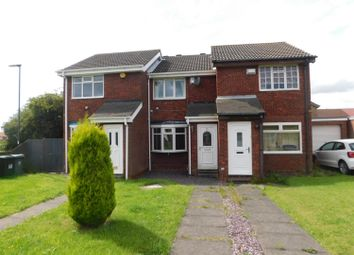 Thumbnail 2 bedroom terraced house to rent in Chelford Close, Wallsend
