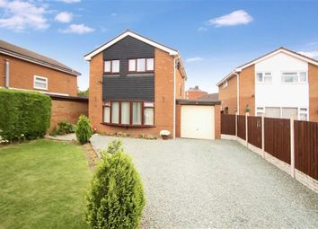 Thumbnail 3 bed detached house for sale in Llys Road, Oswestry